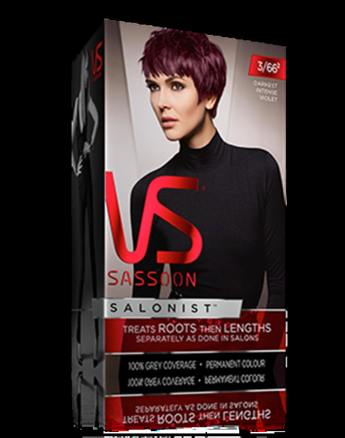 Darkest Intense Violet Vidal Sassoon Salonist